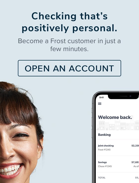 Personal Checking & Bank Accounts | Frost