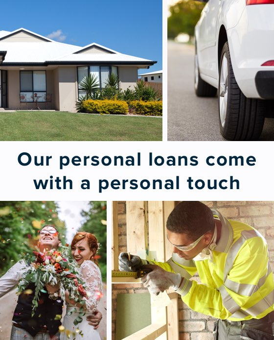 Our personal loans come with a personal touch