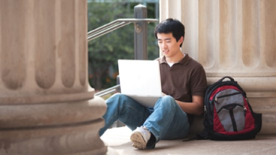 Image of college student