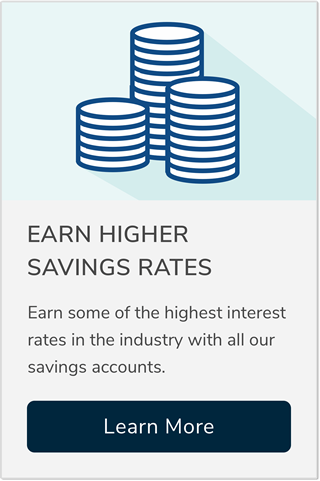 Earn higher savings rates