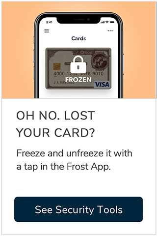 Oh no. Lost your card?