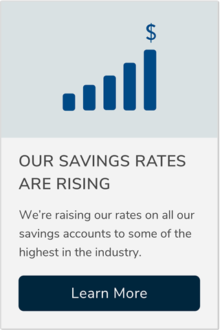 Our Savings Rates Are Rising